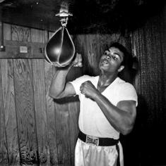 Harry Benson, Muhammad Ali (Cassius Clay) in Training, Miami, 1964