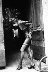 Arthur Elgort, Yasmin Lebon, Azzedine Alaia, 1986
