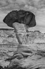 Priscilla Rattazzi, Mushroom Hoodoo, Yermo Canyon, 2019
