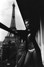 Helmut Newton, Model and Meccano Set, Paris, 1976