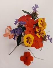 Horst, Marigolds, Impatiens, & Violets, c. 1985