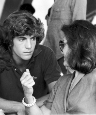 Ron Galella, John F. Kennedy Jr. and Jackie Onassis. Seventh Annual Robert F. Kennedy Pro-Celebrity Tennis Tournament, New York, 1978