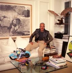 Harry Benson, Ralph Lauren in his office,1992