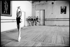 "Arthur Elgort, ""Olga"" at Vaganova School in St. Petersburg, Russian Vogue, 1999"