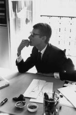 Marc Riboud, Yves Saint Laurent in His Paris Office, 1964