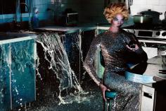 Steven Klein, Woman in Kitchen, 2011