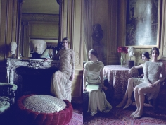 Deborah Turbeville, Models in Valentino, VOGUE Italia, 2011