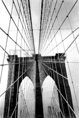 Alfred Eisenstaedt,  Brooklyn Bridge #2, New York