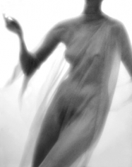 Lillian Bassman Model unknown, circa 1950. Reinterpreted in 2006