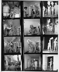 Bruno Bernard, Riviera Showgirls Lisa Gibson & Ina Garner, 1960