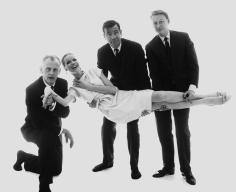 Bert Stern, Art Carney, Veruschka, Walter Matthau, and Mike Nichols, circa 1960