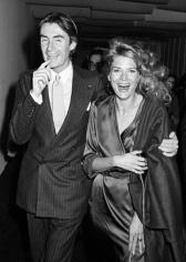 Ron Galella Joel Schumacher and Candice Bergen, NYC, November 7, 1984