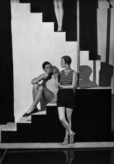 George Hoyningen-Huene, Beachwear by Schiaparelli, Bettina Jones, 1928