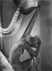 Horst P. Horst, Lisa with Harp, 1938