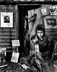 Daniel Kramer, Bob Dylan and Sara Dylan at Shack, Woodstock, New York, 1965