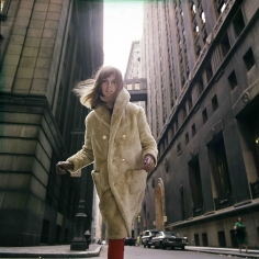 William Helburn, Jean Shrimpton, Wall Street, Borgana, 1964