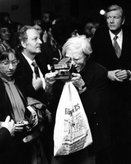Ron Galella Mayor John Lindsay and Andy Warhol, JImmy's Disco, NYC, September 18, 1973