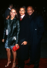 Ron Galella, Rashida Jones, Kidada Jones, and Quincy Jones, New York, 1997
