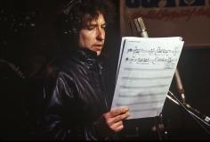 Harry Benson, Bob Dylan, USA for Africa, 1985