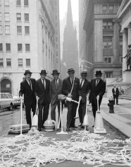 William Helburn, Clean New York Campaign, Wall Street, c. 1960