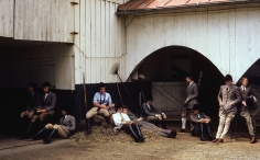 Slim Aarons, The Girls of Foxcroft School Wait for Their Horses, Virginia, 1960