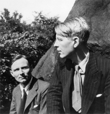 Louise Dahl-Wolfe, W.H. Auden and Christopher Isherwood, 1938