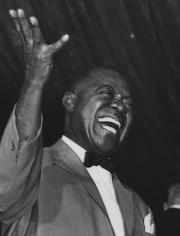 Ron Galella, Louis Armstrong, Roseland Ballroom, New York, 1967