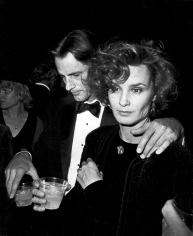 Ron Galella, Sam Shepard and Jessica Lange, New York Film Festival, Lincoln Center, 1984