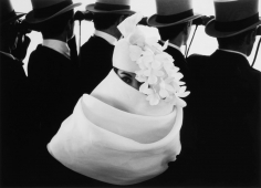 Frank Horvat, Givenchy Hat (A), Paris, 1958