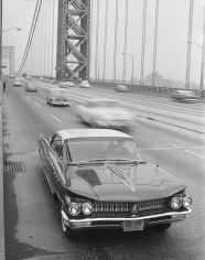 William Helburn, Buick, George Washington Bridge, 1958