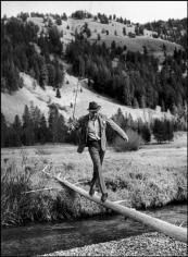 Robert Capa, Gary Cooper, Sun Valley, Idaho, October 1941
