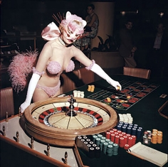 Bruno Bernard, Lu Alten at the Riviera Casino, 1959
