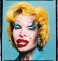 David LaChapelle, Amanda Lepore as Andy Warhol's Marilyn Monroe, 2002