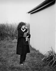 Priscilla Rattazzi, Jean Pagliuso and Jessie, Watermill, 1985