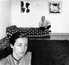Robert Doisneau, Picasso et Francoise Gilot, 1952