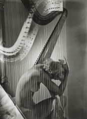Horst, Lisa with Harp, 1939
