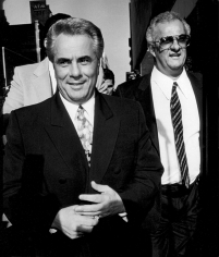 Ron Galella, John and Peter Gotti, New York, 1990