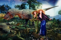 David LaChapelle, Young Girls With Dinosaur, 2004