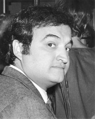 "Ron Galella, John Belushi, Opening of ""The Elephant Man"", Booth Theater, New York, 1980"