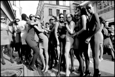 Arthur Elgort, Models After Azzedine Alaïa Show, Paris, 1986