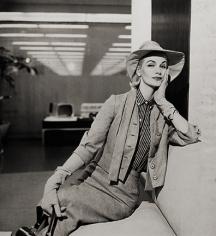 Tom Palumbo, Sunny Harnett in Office, circa 1955