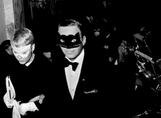 "Harry Benson, Frank Sinatra and Mia Farrow at Truman Capote's ""Black and White"" Ball at the Plaza Hotel, New York, 1966"