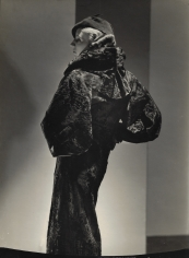 George Hoyningen-Huene, Broadtail Coat, 1935