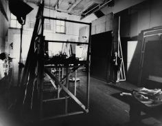 Herbert Matter, Mark Rothko in his studio