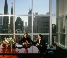 Harry Benson, Halston & Liza Minnelli, New York, 1978