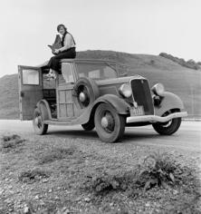 Photographer Unknown, Dorothea Lange, circa 1935