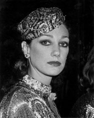 Ron Galella, Marisa Berenson, Romantic and Glamorous Hollywood Design Exhibition, Metropolitan Museum of Art, New York, 1974