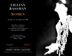 Lillian Bassman, Exhibition Invitation