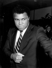 Ron Galella, Muhammad Ali, Shade Cardiovascular Research Foundation Benefit, Beverly Hilton Hotel, 1982