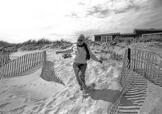 Harry Benson, Truman Capote, Long Island, 1984